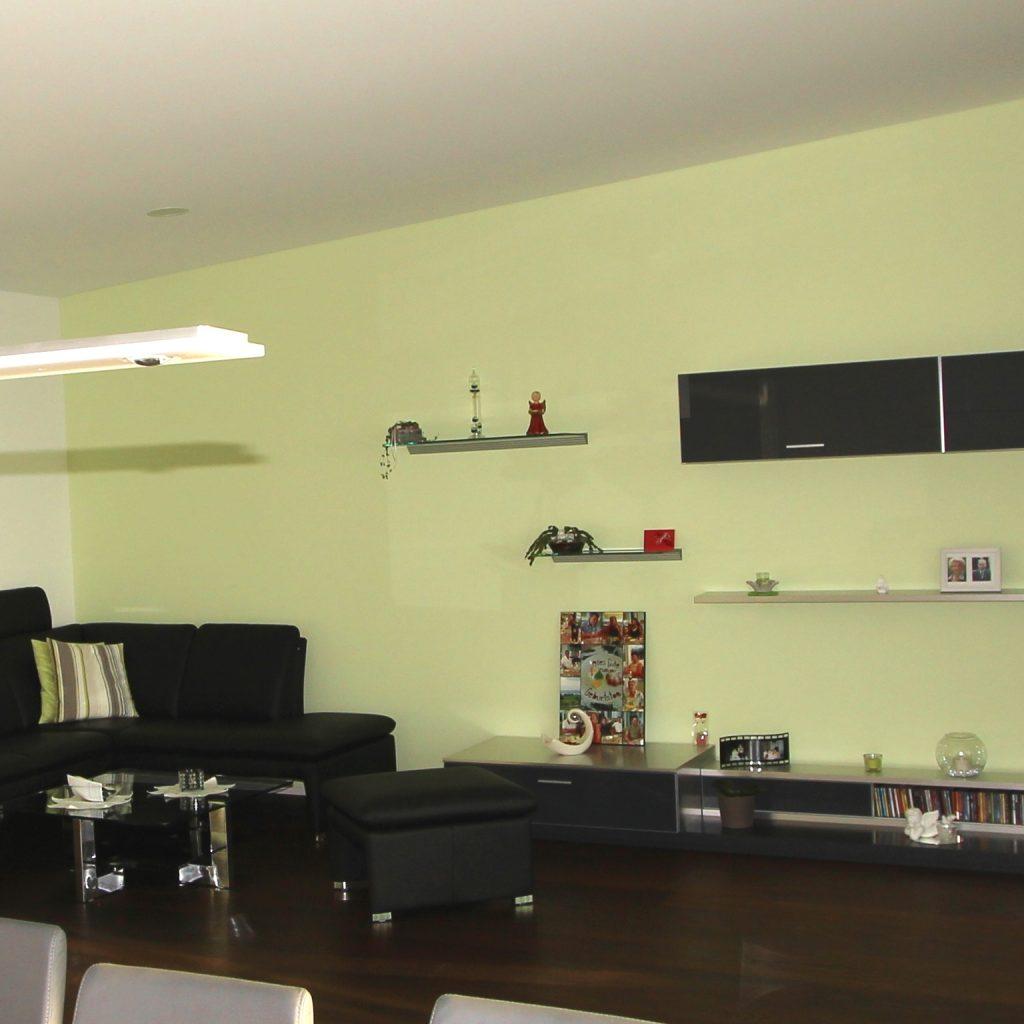 Innenräume farblich gestalten